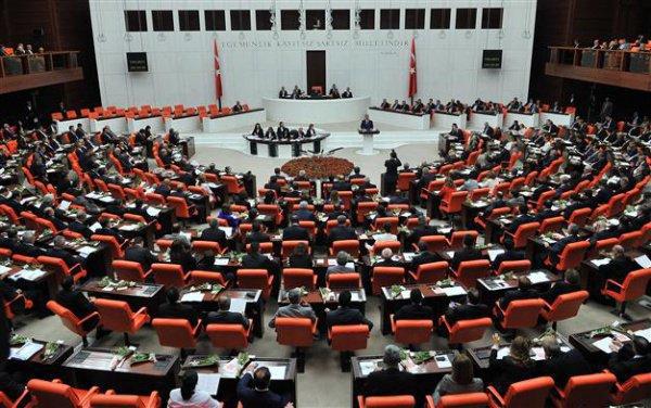 Парламент Турции.