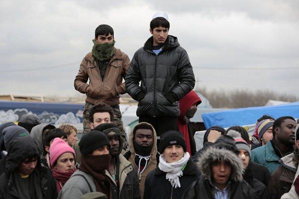 Мигранты в ЕС.