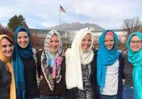 Студентки мормонского университета в США надели хиджаб