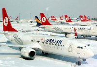 Казанцы не смогли вылететь в Стамбул из-за аномальных снегопадов
