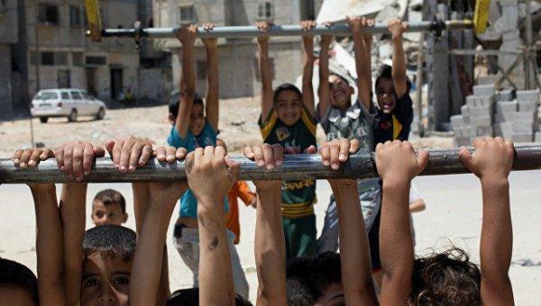 Дети Алеппо вернулись за парты.