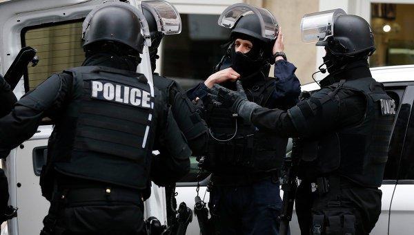 Полиция Франции.