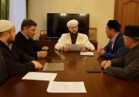 Муфтият РТ посетила казахстанская делегация