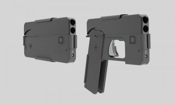 ВСША появились подобные  наiPhone складные пистолеты