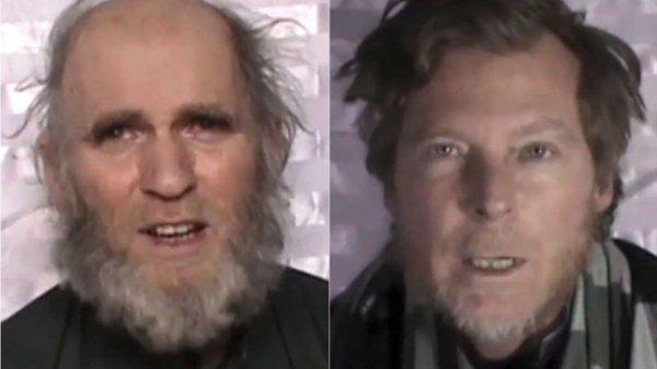 Похищенные американский и австралийский профессора.