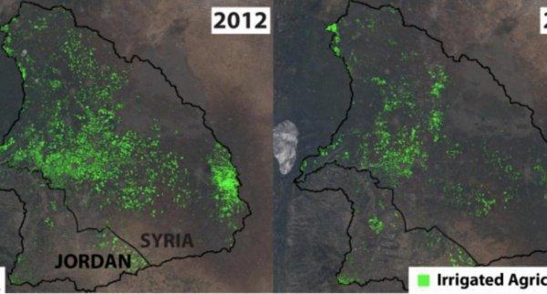 Спутниковые снимки.