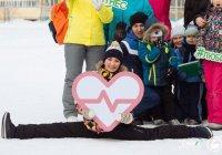 Молодежь Альметьевска занялась «Зеленым фитнесом» на свежем воздухе (ФОТО)