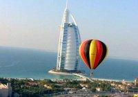 Воздушный шар с туристами рухнул в ОАЭ