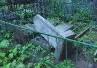 Пострадавшее от вандалов Ново-Татарское кладбище отремонтируют за 6,4 млн руб.