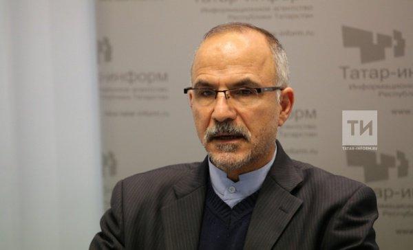 Официальный представитель ИРИ в Казани Алибеман Эгбали Зарча