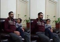 Эта маленькая девочка явно знает Коран гораздо лучше своего папы