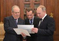 Путин поблагодарил Шаймиева за работу по изучению культуры и истории