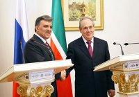 Нурсултан Назаббаев и Абдуллах Гюль поздравили Минтимера Шаймиева с юбилеем