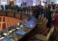 Потасовку на переговорах в Астане устроили арабские журналисты