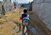 Более 180 тыс. детей сирийских беженцев в Ливане не посещают школу