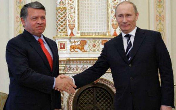 Путин проведёт переговоры скоролём Иордании 25января в российской столице