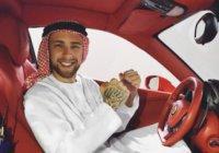 Популярный исполнитель Егор Крид примерил на себя образ арабского шейха