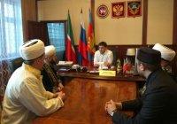 Муфтий РТ находится с рабочим визитом в Кукморском мухтасибате
