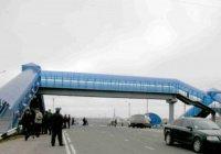 В Татарстане федеральные трассы оборудуют пешеходными мостами