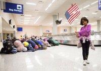 Мусульмане ответили намазом на меры Трампа по ограничению въезда в США