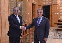 Рустам Минниханов и посол Пакистана обсудили дальнейшее сотрудничество