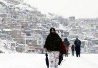 Снегопады в Афганистане унесли жизни более 100 человек