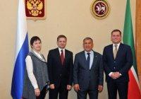 Рустам Минниханов встретился с руководителем компании Alstom в РФ