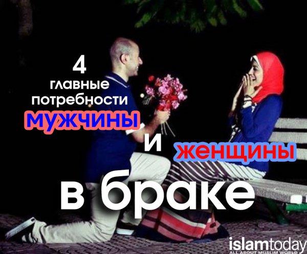 4 главные потребности мужчины и женщины в браке