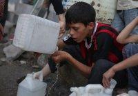 Почти 2 млн жителей Алеппо не имеют доступа к питьевой воде