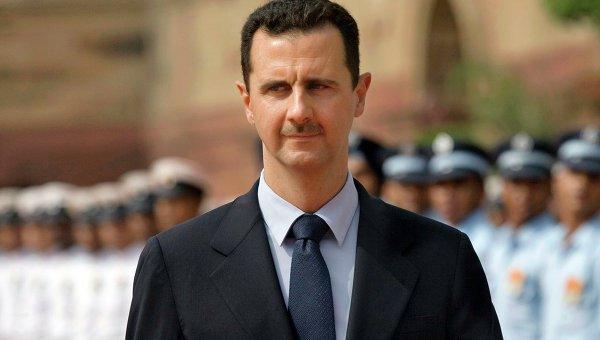 Асад объявил, что сотрудничествоРФ иСША пойдет напользу Сирии