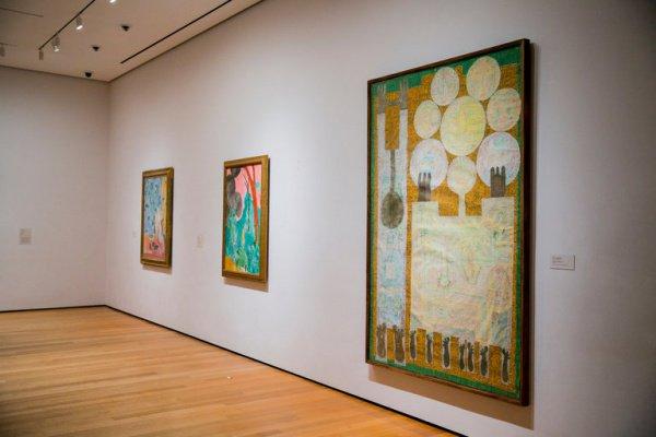 ВНью-Йорке показали работы живописцев из«запрещенных» Трампом стран