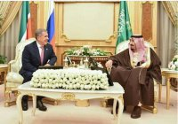 Рустам Минниханов встретился с королем Саудовской Аравии