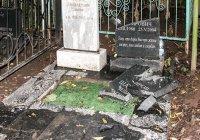 Стало известно, кто отремонтирует разрушенное вандалами Ново-Татарское кладбище