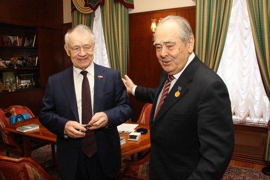 Владимир Щербаков и Минтимер Шаймиев