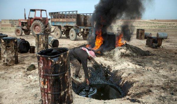 Кому достанется Сирийская нефть...