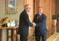 Рустам Минниханов встретился с и.о. генерального консула Ирана