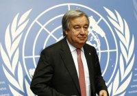Генсек ООН отправляется в турне по странам Ближнего Востока