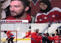 Мусульманка-хоккеистка из ОАЭ играет на одном льду со знаменитым Овечкиным
