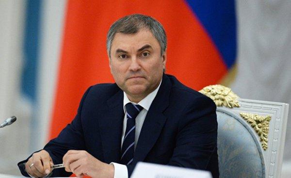 Вячеслав Володин обсудит вТатарстане развитие IT-технологий