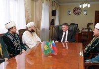 Камиль хазрат Самигуллин встретился с главой Арского района