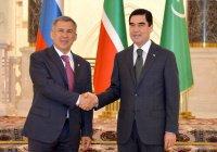 Рустам Минниханов поздравил Гурбангулы Бердымухамедова с третьим сроком