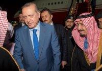 Эрдоган обсудил Сирию с королем Саудовской Аравии