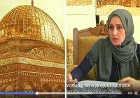 Палестинская мусульманка создает поразительные картины всего лишь с помощью хны