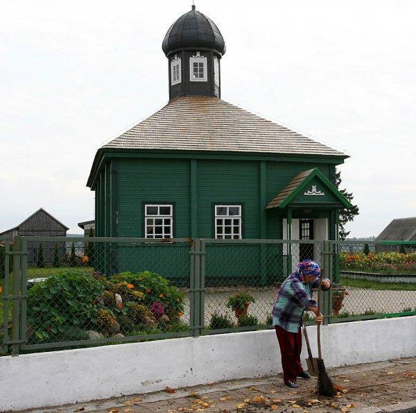 Татарская мечеть в Польше в наши дни.