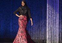 Мусульманка в хиджабе представила на подиуме коллекцию Канье Уэста