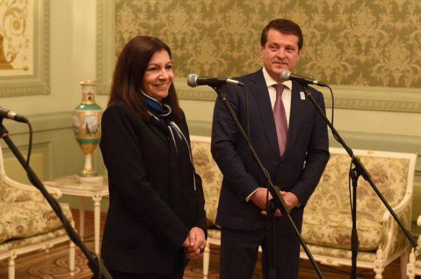 Анн Идальго и Ильсур Метшин