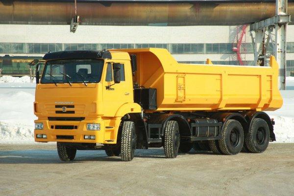 Грузовики КАМАЗ адаптированы для работы в горной промышленности
