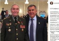 Рустам Минниханов поздравил военных и ветеранов с Днем защитника Отечества