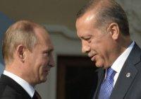 Стали известны темы переговоров Путина и Эрдогана