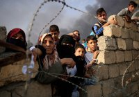 Сотни тысяч жителей Мосула остаются под властью ИГИЛ